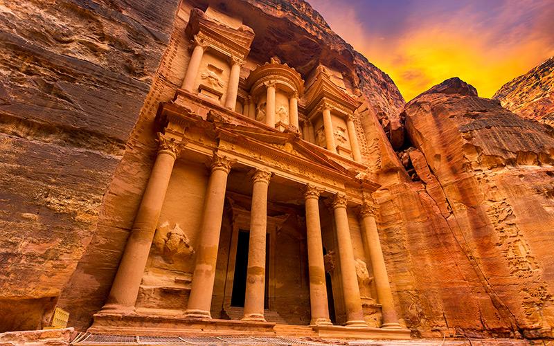 Petra w Jordanii, oferta Biura Podróży w Szczecinie
