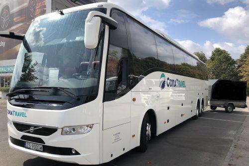 Biuro Podróży OdraTravel ze Szczecina proponuje autokary z przyczepką