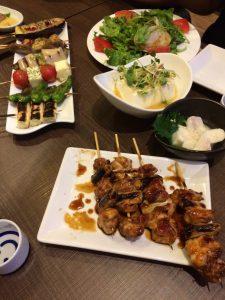 Posiłki w Japonii - wycieczka wykupiona w biurze podróży Odra Travel w Szczecinie