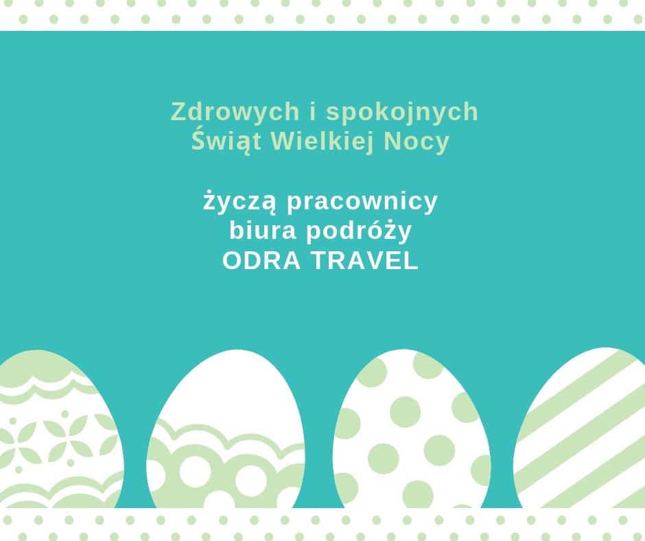 Biuro podróży OdraTravel ze Szczecina życzy WESOŁEGO ALLELUJA!