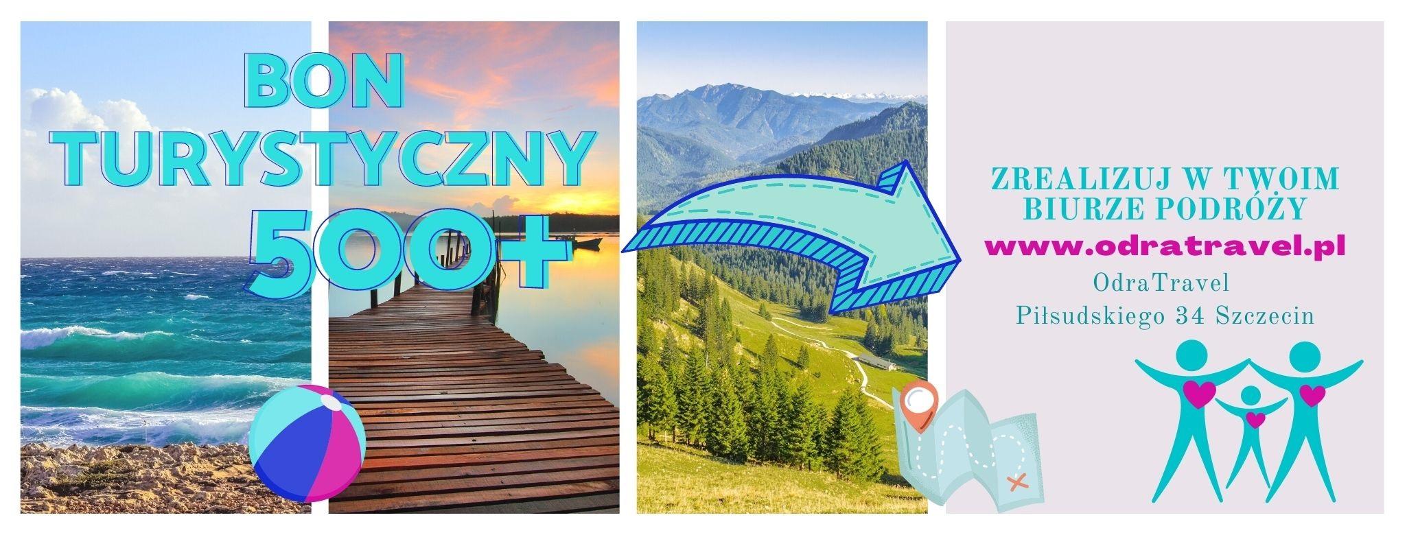 polski bon turystyczny - zrealizuj go w naszym biurze podróży w Szczecinie, dowiedz się jak się ubiegać o bon - instrukcja KROK PO KROKU, baza ofert