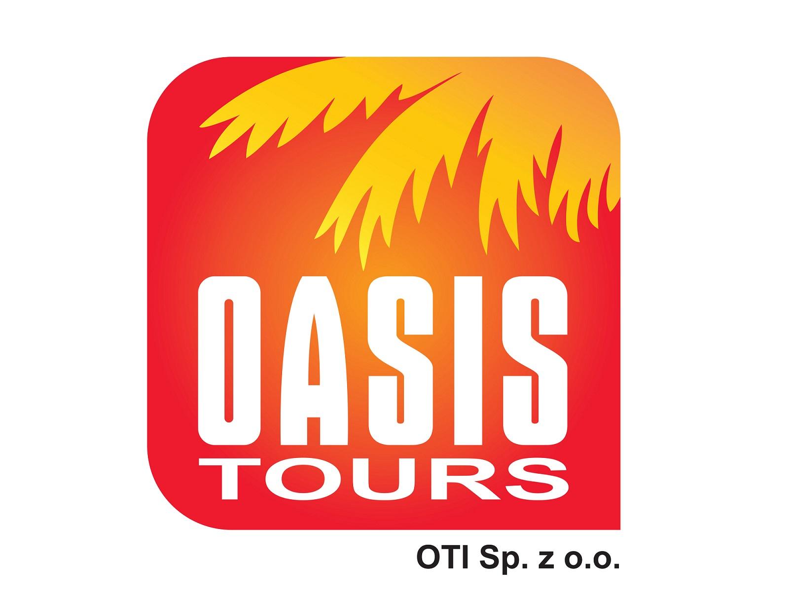 logo biura oasis_tours którego oferty dostepne są w biurze OdraTravel w Szczecinie